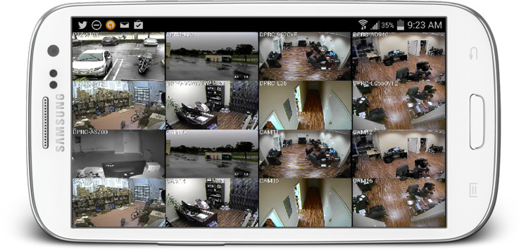 Android-App-CCTV-Video-Playback